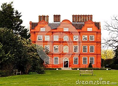Typowy brytyjski budynku.