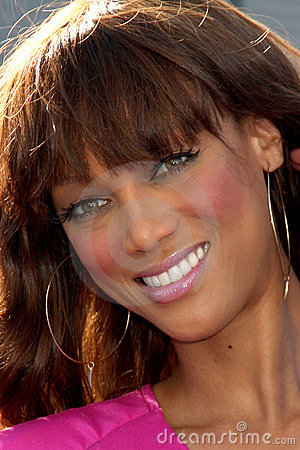 Tyra Banks Editorial Stock Image