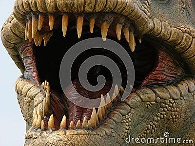 Tyrannosaur del dinosaurio
