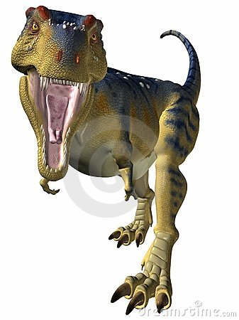 Free Tyrannosaurus-Better Watch Out Stock Images - 2327744