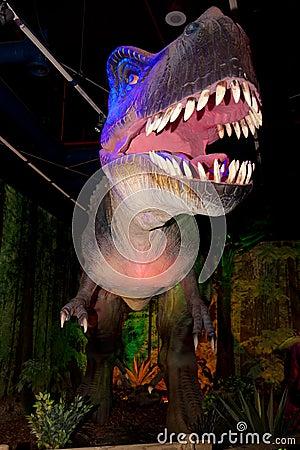 Tyrannosaurus rex Editorial Photography