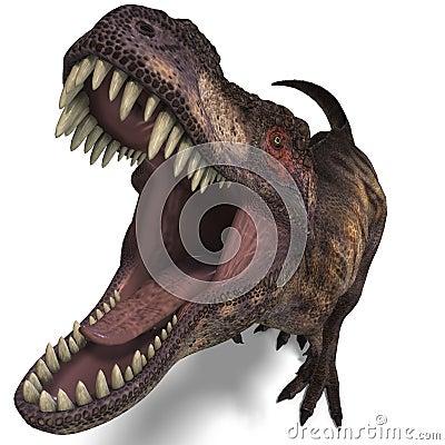 Free Tyrannosaurus Rex Stock Image - 9885061