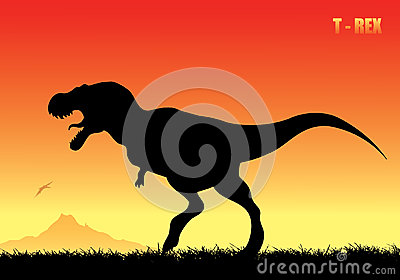 Tyrannosaurus rex background