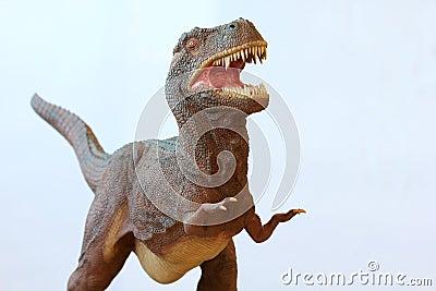 A Tyrannosaurus Rex Dinosaur
