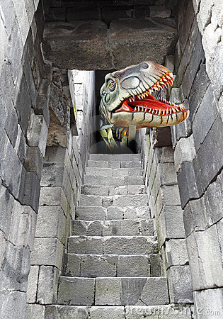 Tyrannosaurus Rex escape.