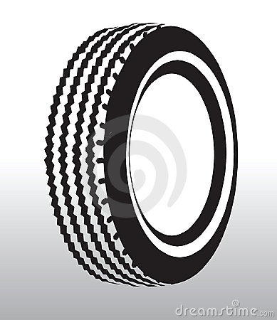 Tyre drawing