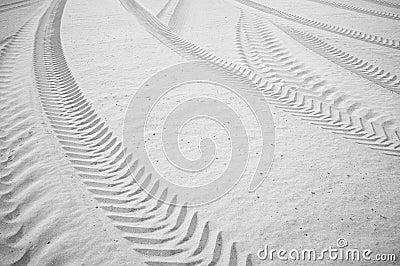 Tyre track