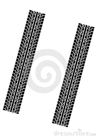 Free Tyre Tracks Stock Photo - 3155020
