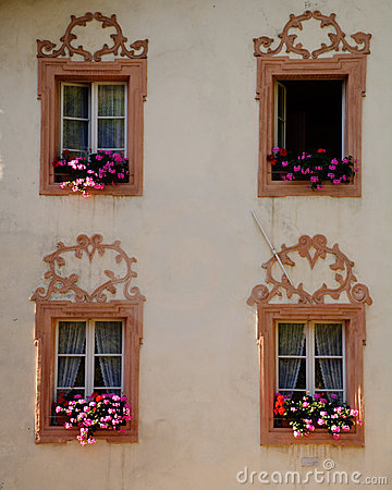 Free Tyrol Windows Royalty Free Stock Images - 8456909