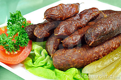 Tyrolean smoked sausages