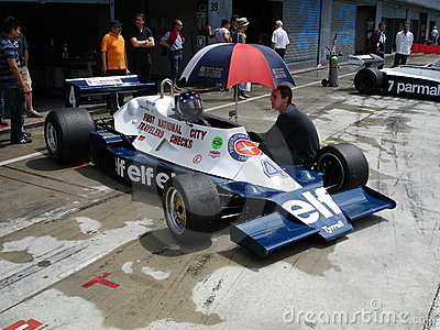 Tyrrell 008 Editorial Stock Photo