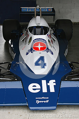 Tyrrell Formula One Racing Car Editorial Stock Photo
