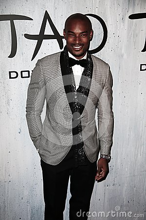 Tyson Beckford Editorial Stock Photo