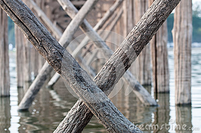 Мост u Bein, Myanmar