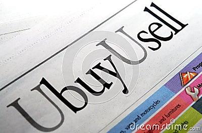 U buy u sell wording