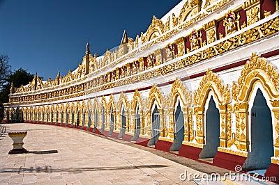 U Min Dhonesae Pagoda, Sagaing, Myanmar