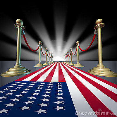 Free U.S.A. American Movie Star Festival Election Vote Royalty Free Stock Images - 16584149
