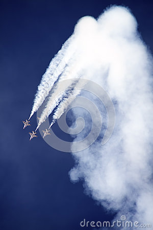 U.S. Air Force Thunderbirds Stock Photo