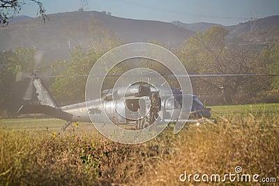 U.S. Army - Black Hawk UH-60G Editorial Photography