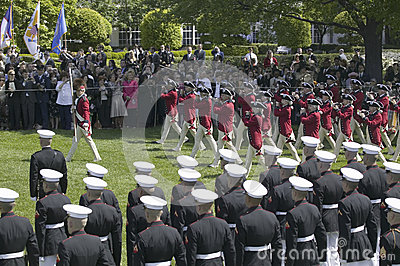 The U.S. Army Old Guard Fife Editorial Photography