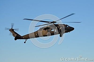 U.S. Army - UH-60 Black Hawk Editorial Image