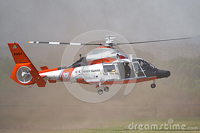 U.S. Coast Guard - HH-65 Dolphin Editorial Photo