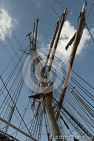 Free U.S. Coast Guard Tall Ship, The Eagle Stock Images - 78253804