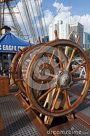 Free U.S. Coast Guard Tall Ship, The Eagle Stock Photos - 78253833