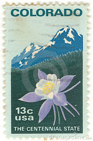 U.S. Colorado Postage Stamp