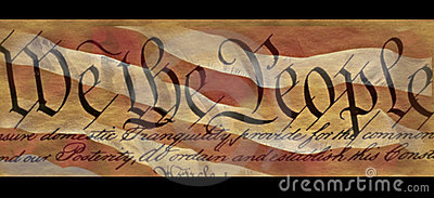U.S. Constitution Editorial Photography