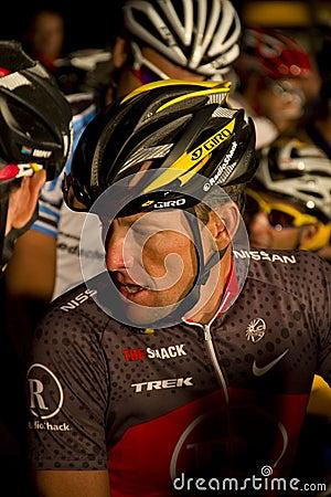 U S cyclist Lance Armstrong Editorial Stock Image