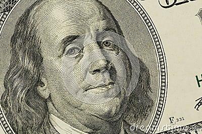 U.s. dolarowy rachunek, beniamin Franklin