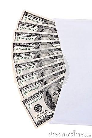 U.S. dollars bills