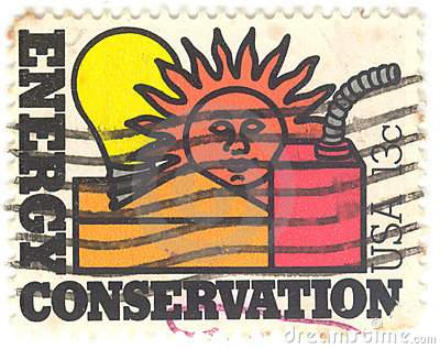 U.S. Energy Conversation Stamp