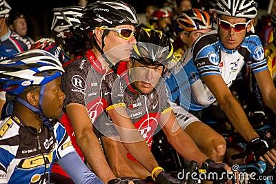 U S fietser Lance Armstrong Redactionele Stock Afbeelding