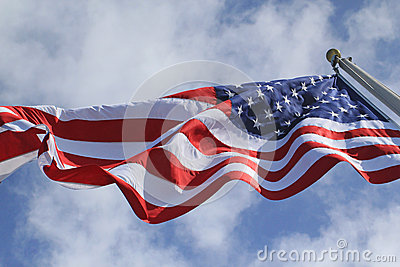 U.S. Flag Flying