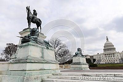 U.S. Grant Statue