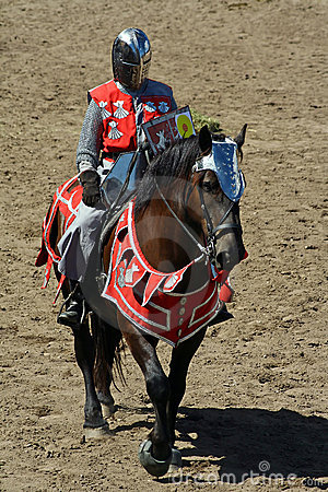 U.S./International Jousting Championship Editorial Stock Photo