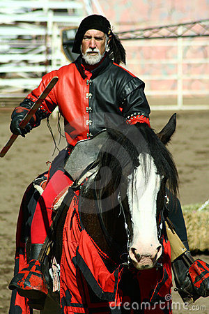 U.S./International Jousting Championship Editorial Stock Image