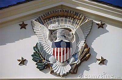U.S. National Emblem Editorial Stock Photo