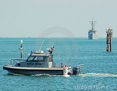 U.S. Navy Patrol Boat Editorial Stock Image