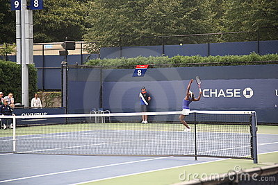 U.S. Open Tennis - Sloan Stephens Editorial Stock Photo