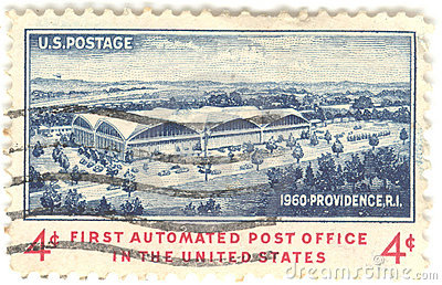 U.S. Post Office Stamp