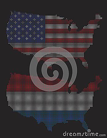 pixel art usa