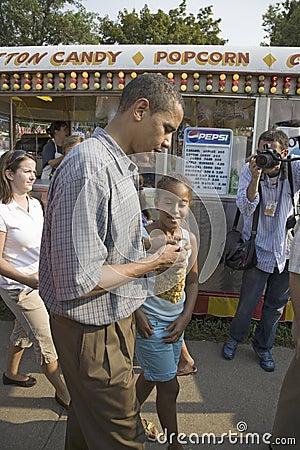 U.S. Senator Barak Obama Editorial Stock Photo