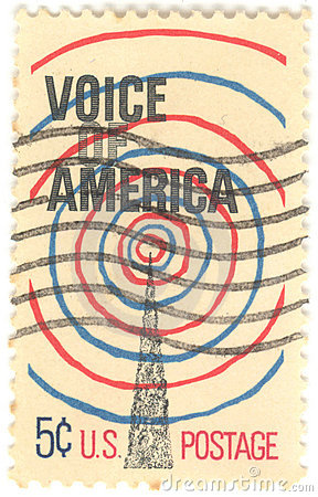 U.S. Voice of America Stamp