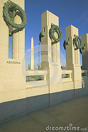 U.S. World War II Memorial Editorial Stock Photo