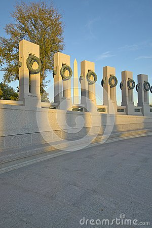 U.S. World War II Memorial Editorial Stock Image