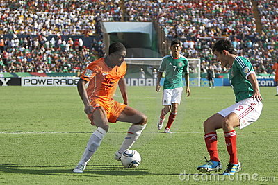 U17 MEX-NED Editorial Stock Photo