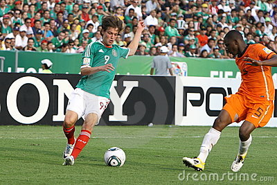 U17 MEX-NED Editorial Photo